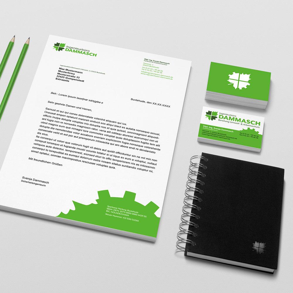 Briefpapier und Geschäftsausstattung