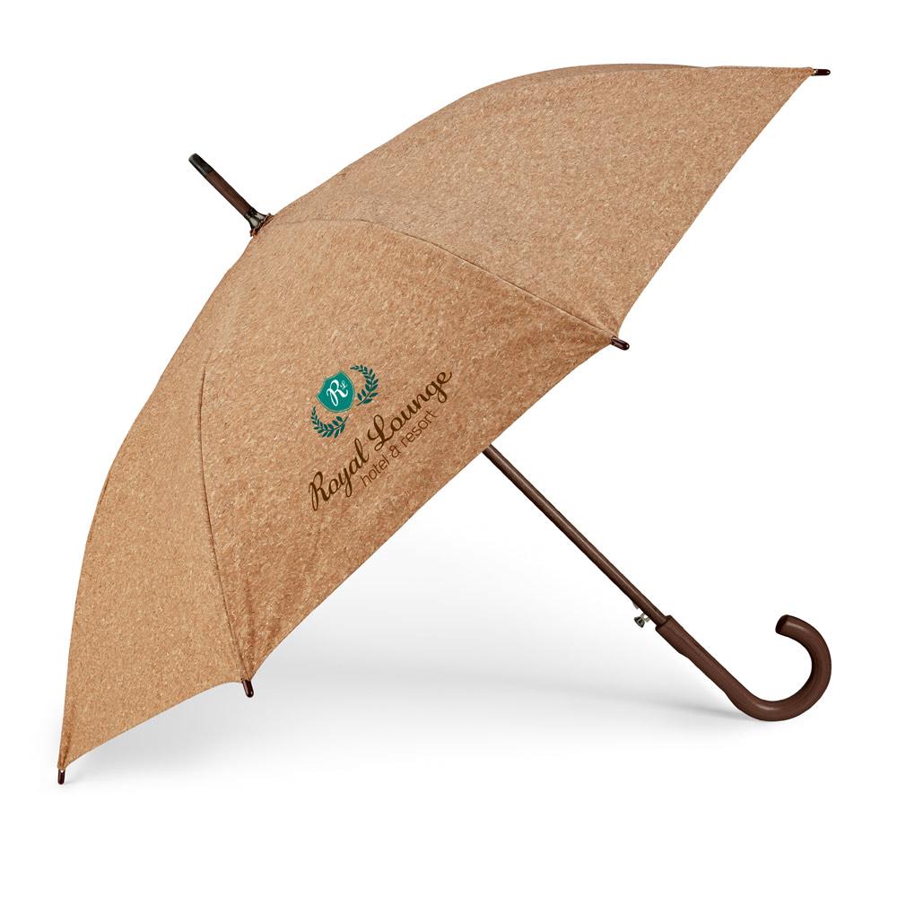 Regenschirm aus Kork